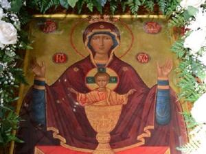 Чудотворная икона Божией Матери пребывает в Нижнем Новгороде