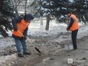 В два раза увеличились штрафы за плохую уборку снега в Нижнем Новгороде