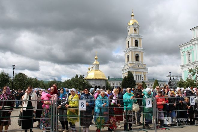 Патриарх Кирилл возглавил божественную литургию в Дивееве  - фото 15